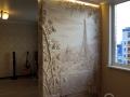 Барельеф в квартире-студии