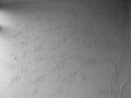 Лепка на стене